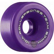 Rollerbones Team Logo 57mm 101A 8pk Purple