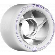 Rollerbones Turbo Wheel Clear Aluminum Hub 62mm 92a 8pk Natural