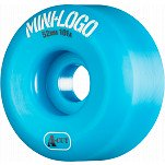 Mini Logo Skateboard Wheel A-cut 52mm 101A Blue 4pk