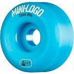 Mini Logo Skateboard Wheel A-cut 52mm 101A Blue 4pk