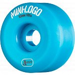 Mini Logo Skateboard Wheel A-cut 53mm 101A Blue 4pk