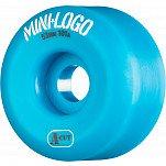 Mini Logo Skateboard Wheel A-cut 53mm 101A Blue 4pk