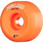 Mini Logo Skateboard Wheel A-cut 54mm 101A Orange 4pk