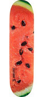 Mini Logo Small Bomb Skateboard Deck 249 Watermelon - 8.5 x 32
