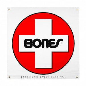 Bones® Bearings Swiss Circle Banner