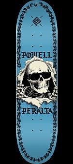Powell Peralta Ripper Chainz Skateboard Deck Navy - 8.5 x 32.08