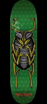 Powell Peralta Roach Skateboard Deck Green - Shape 247 - 8 x 31.45