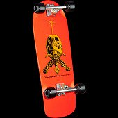 Powell Peralta Rodriguez Skull and Sword Complete Assembly Orange - 10 x 28.25