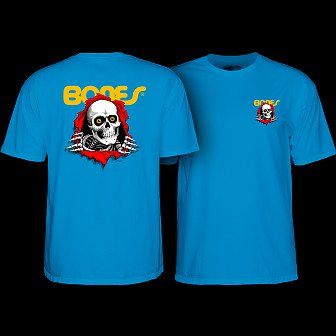 Powell Peralta Ripper Youth T-shirt Turquoise