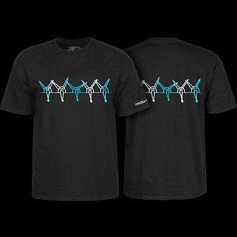 Powell Peralta Vato Rat Band Black T-Shirt