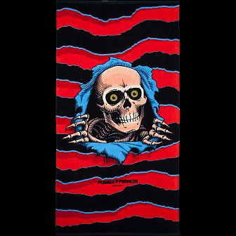 Powell Peralta Ripper Beach Towel 2
