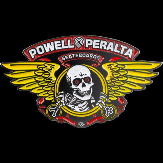 Powell Peralta Winged Ripper Lapel Pin