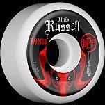 BONES SPF Pro Russell Inquisition 54x31 P5 Skateboard Wheel 84B 4pk