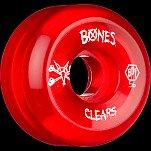 BONES SPF Clear Red 56x32 P5 Skateboard Wheel 84B 4pk