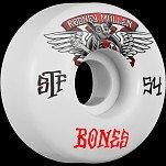 BONES STF Pro Mullen Winged Mutt 54x32 V1 Skateboard Wheel 83B 4pk