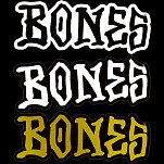 "BONES WHEELS 5"" BONES Sticker Single"