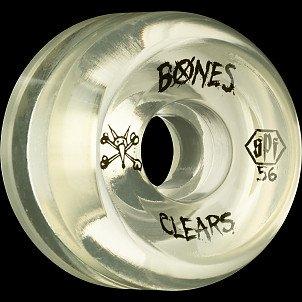 BONES SPF Clear Natural 56x32 P5 Skateboard Wheel 84B 4pk