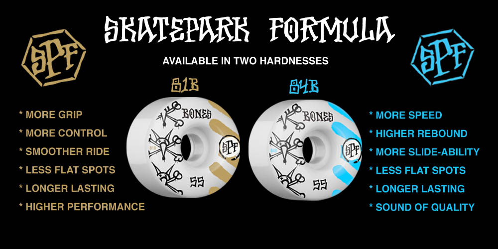 BONES SPF Skateboard Wheels