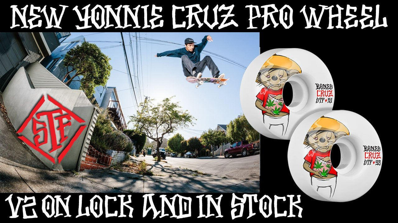 New Yonnie Cruz Pro Wheel STF 53mm